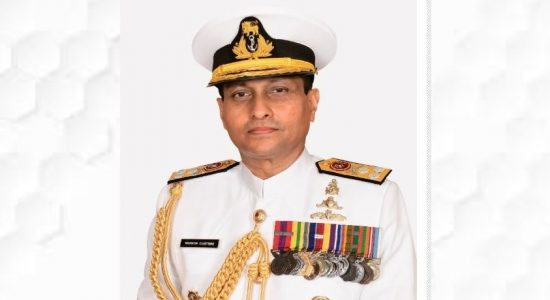 Vice Admiral Nishantha Ulugetenne appointed as new Sri Lanka Navy Commander