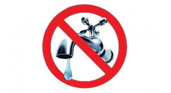 12 hour water cut in Colombo – NWSDB