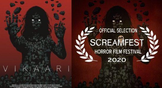 The Big Screen: 'VIKAARI' becomes first Sri Lankan film to premier at LA Screamfest