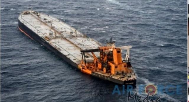 New Diamond oil leak affects marine life in Sri Lankan water; NARA