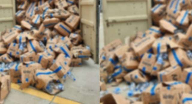 How did foreign liquor turn to water at warehouse? Customs launches probe
