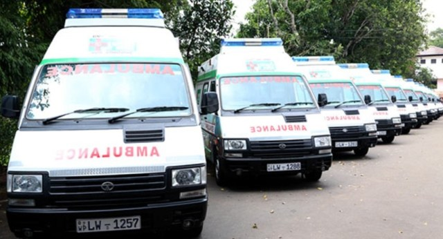 Special Ambulance Service For Lock-down Areas
