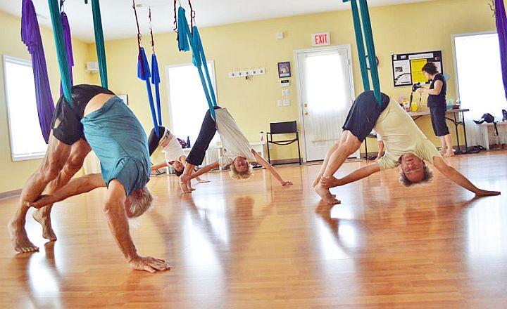 give anti gravity yoga