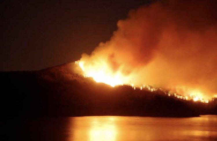 Image result for fires on little st james island