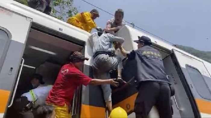 Train Crash In Taiwan Kills At Least 48 - newsR