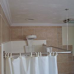 Corner Shower Curtain Rod Kit AdaptiveLivingStore Com