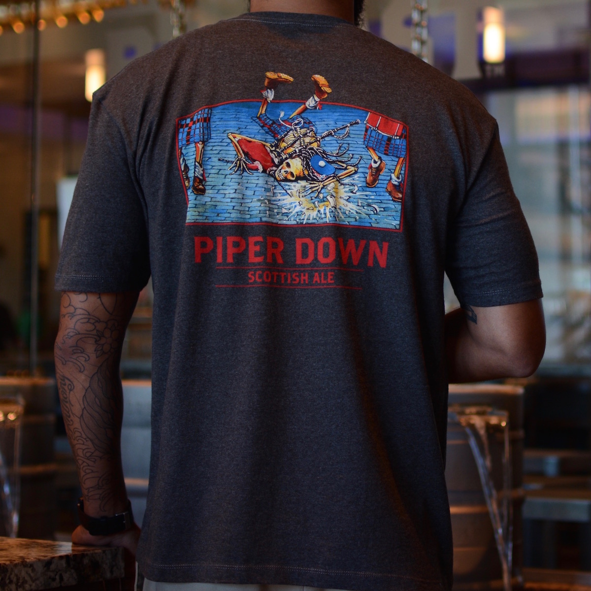 Piper Down Mens TShirt  Ballast Point Brewing Co Online Store