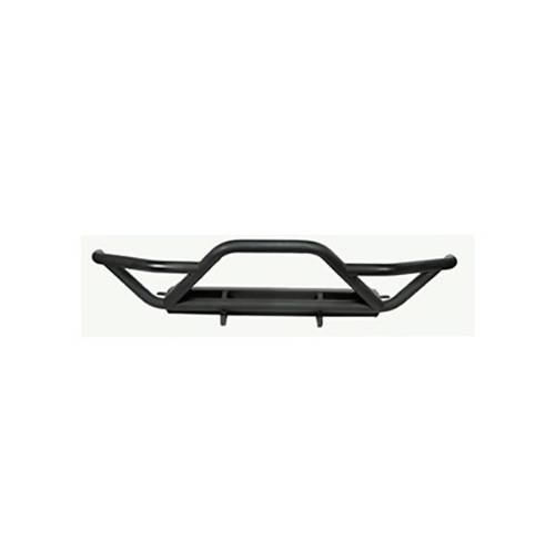 Jeep Wrangler RRC Front Bumper With Grille Guard, Black