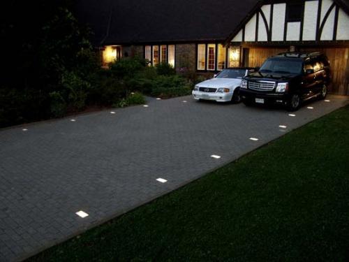 kerr lighting casino paver light 4 1 2 x 7 for walk patio driveway pool deck installation