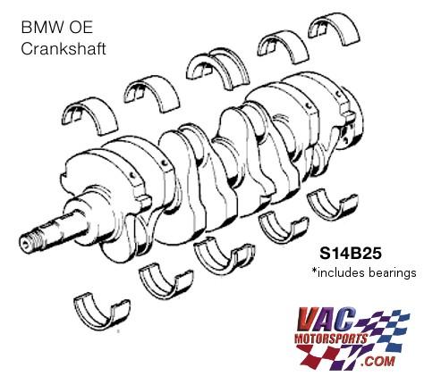 BMW S14B25 Stroker Crankshaft