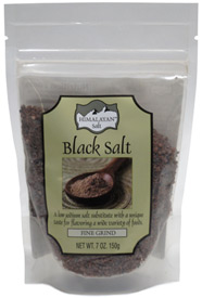 Indian Black Salt by Himalayan Salt  VeganEssentials Online Store