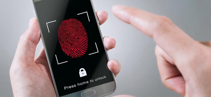 the smartphone fingerprint scanner