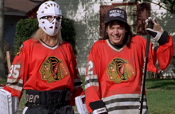 Image result for chicago blackhawks wayne's world
