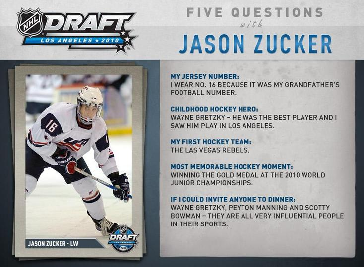 When Jason Zucker Of Las Vegas Was Drafted By Nhl Minnesota Wild