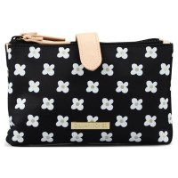 Gillian Jones 2 Room Purse With Flower Design 7126-75 (U)