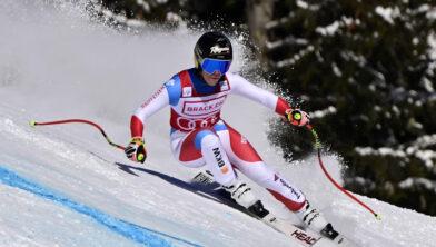 Skiester Gut snelste op super-G in Crans-Montana 5