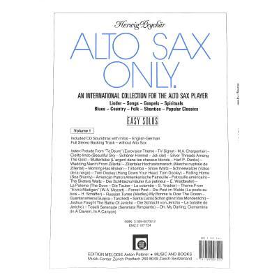 Alto sax only 1