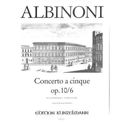 Concerto a cinque D Dur op 106