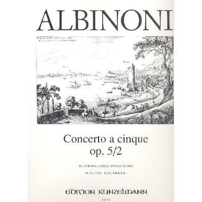 Concerto a cinque F Dur op52