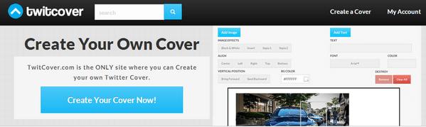 Create cover