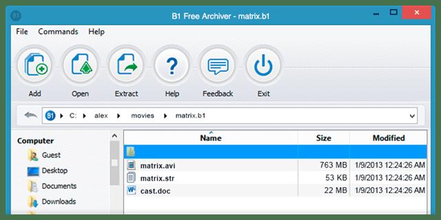 descompactar arquivos