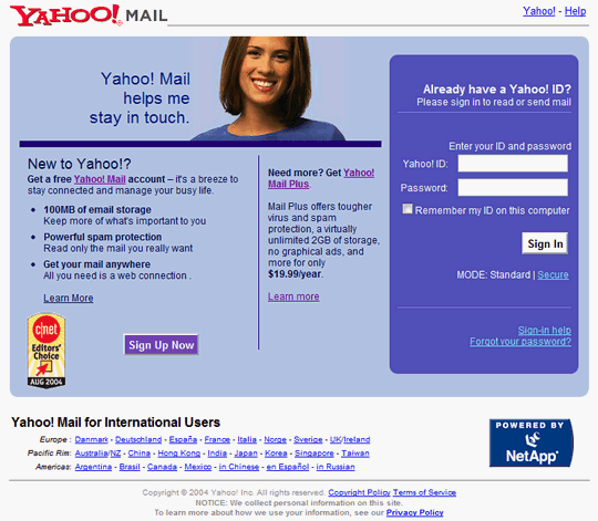 yahoomailsignin2004a