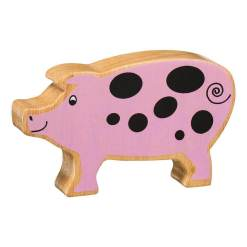 Natural Pink Spotted Pig by Lanka Kade