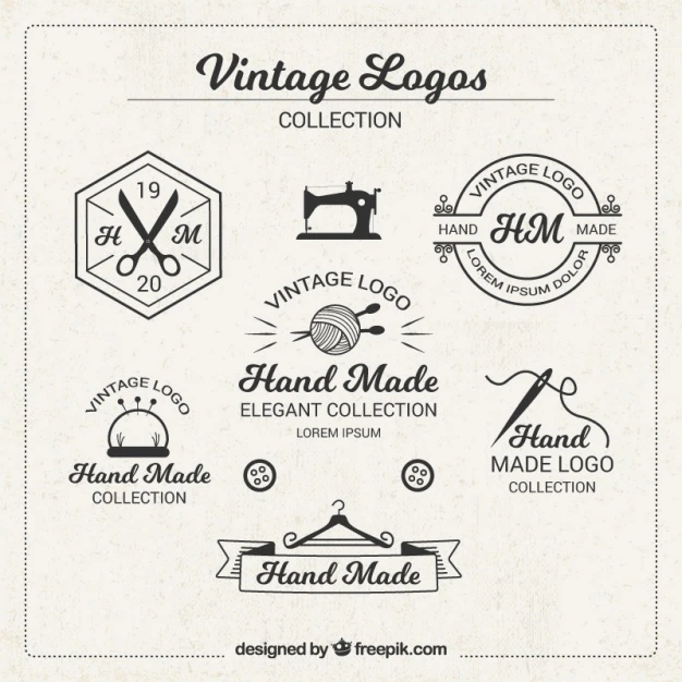 Vintage Logos For Crafts Nohat