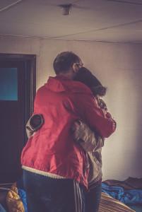 A comforting hug (play, Sebastian Utbult).