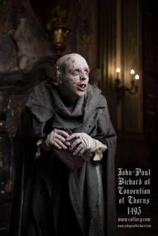 The Nosferatu Josef von Bauren, one of the Founders of the Camarilla. Photo by John-Paul Bichard.