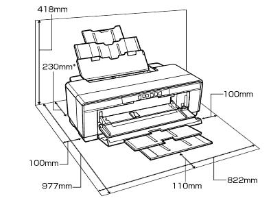 Epson SureColor SC-P400 printer review. A3+ 13 inch width