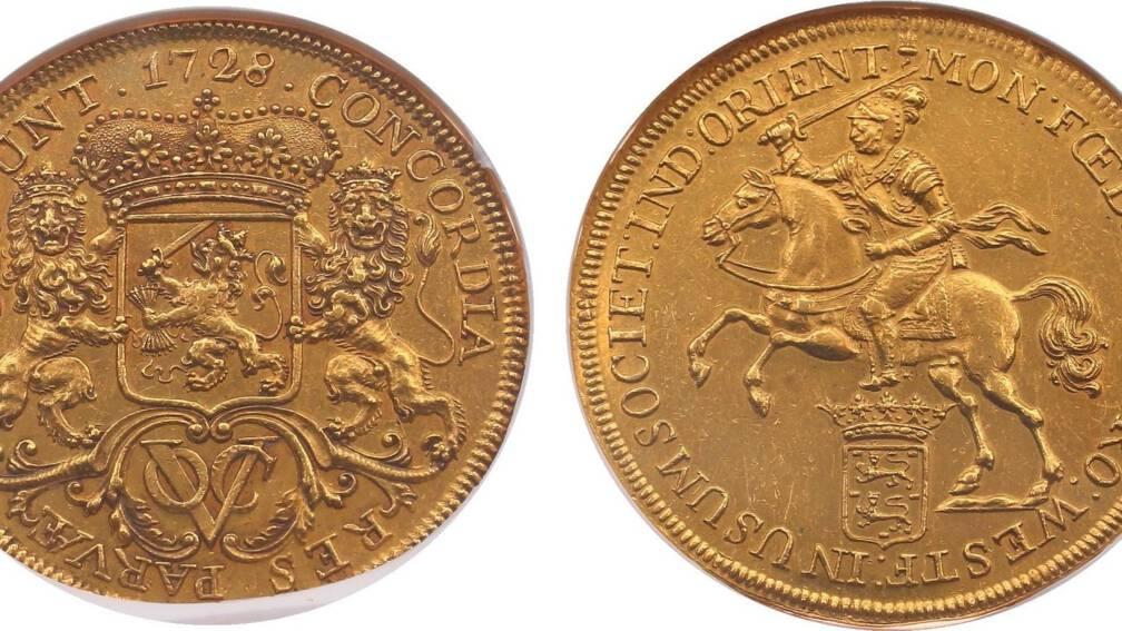oude munt van bijna 200 000 euro