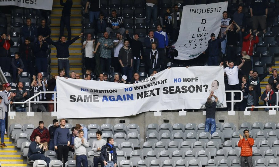 newcastle-fans-mike-ashley-takeover