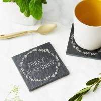 personalised slate drink coaster by sophia victoria joy ...