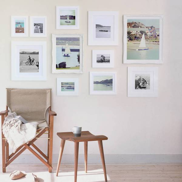 Frame White Wall Collection Sizes