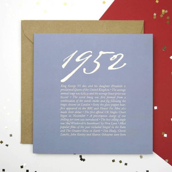 65th Birthday Card Ideas