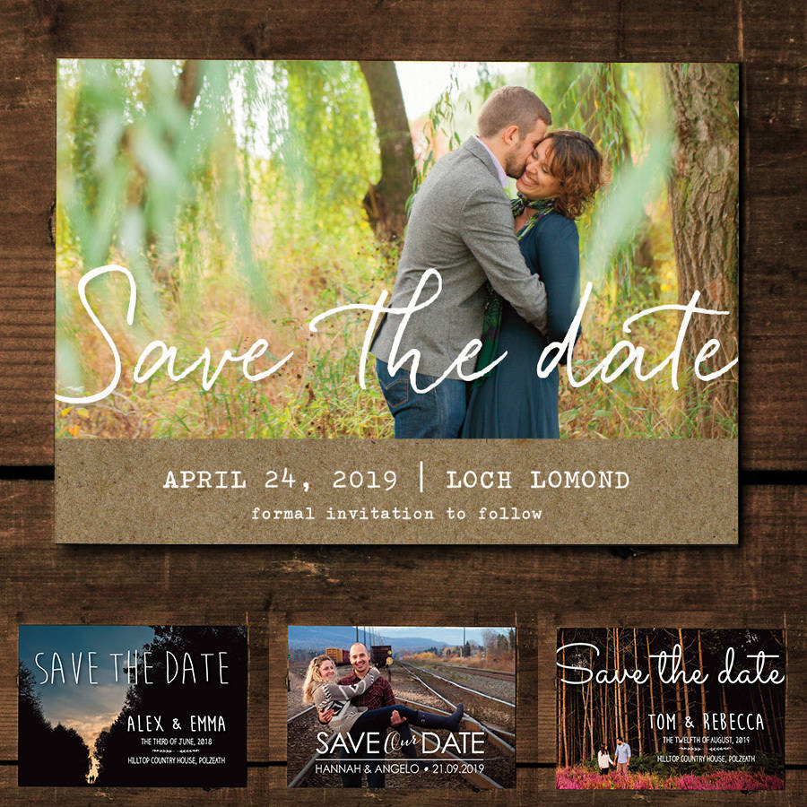 Personalised Save Date