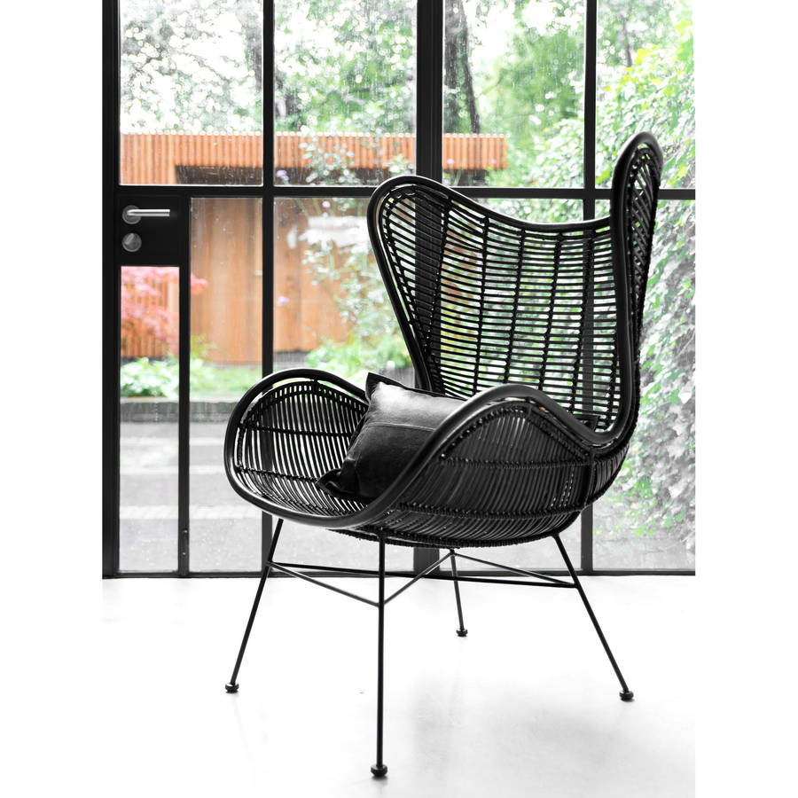 Egg Wicker Chair Rattan Egg Chair In Two Colours