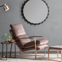 Hanging Chair Notonthehighstreet Round Back Covers Armchair Chairs Com Brown Leather Relax Arm