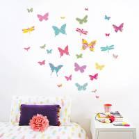shanghai butterfly wall stickers by koko kids ...
