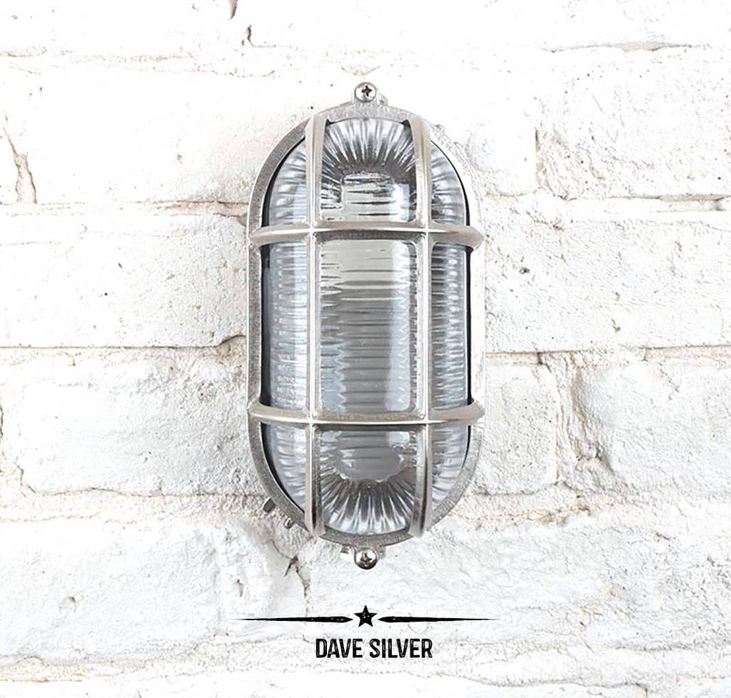 Dave Bulkhead Light For Indoors Or Outdoors By Dowsing
