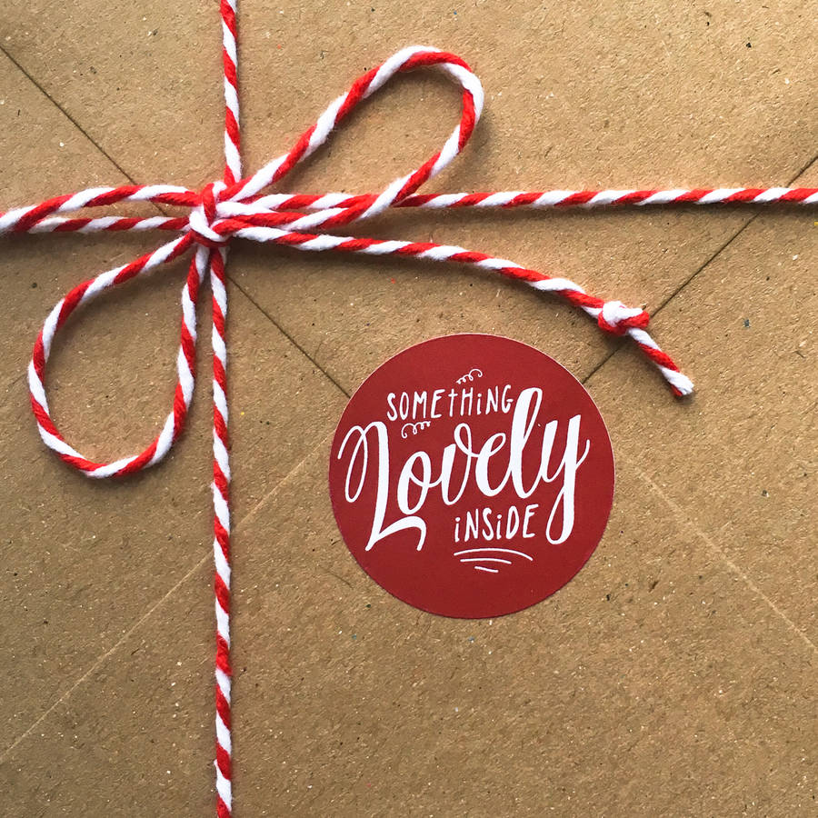 Something Lovely Inside Gift Labels By Rosie Jos