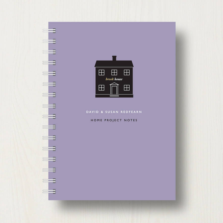 A part of hearst digital m. Personalised New Home Planner Or Notebook By Designed ...