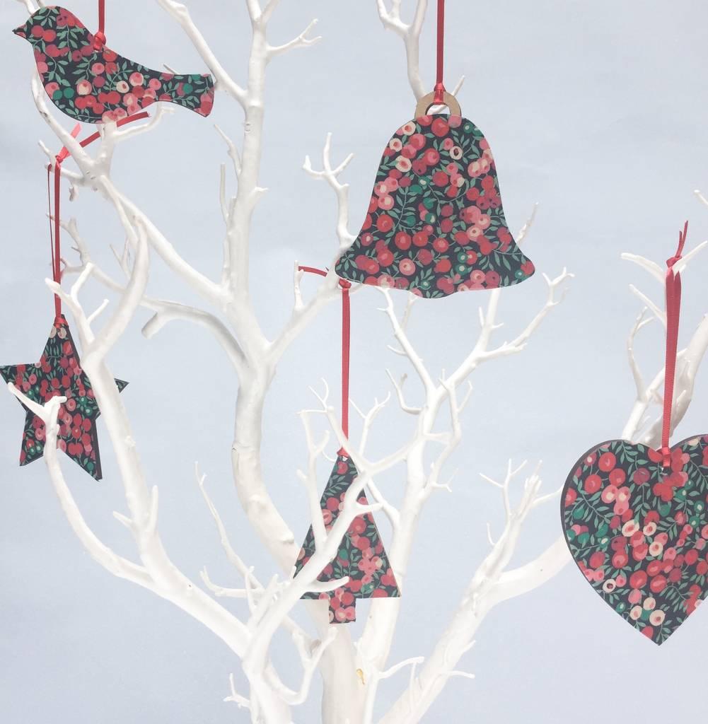 Print Christmas Tree Decorations