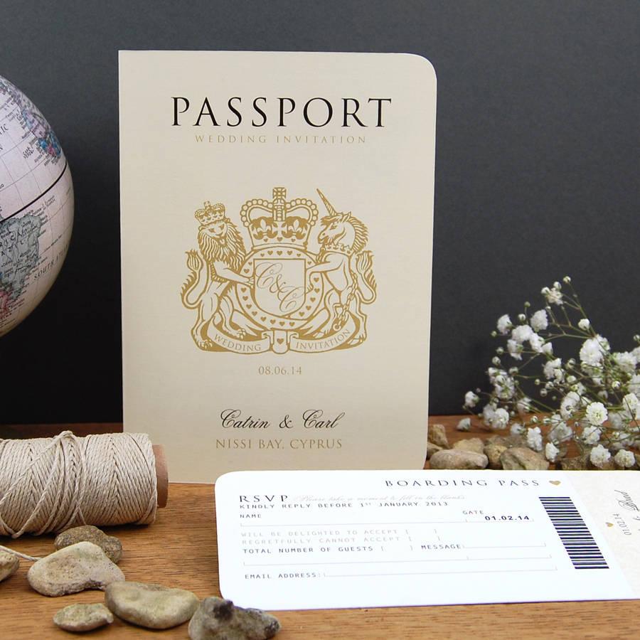 Unique Wedding Invitation Sample