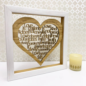 5th Wedding Wood Anniversary Gifts Notonthehighstreet Com
