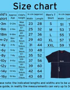 shirt size chart also personalised dad and child superhero set by simply colors rh notonthehighstreet