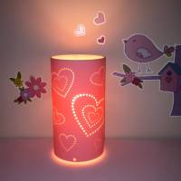 heart table lamp by kirsty shaw | notonthehighstreet.com
