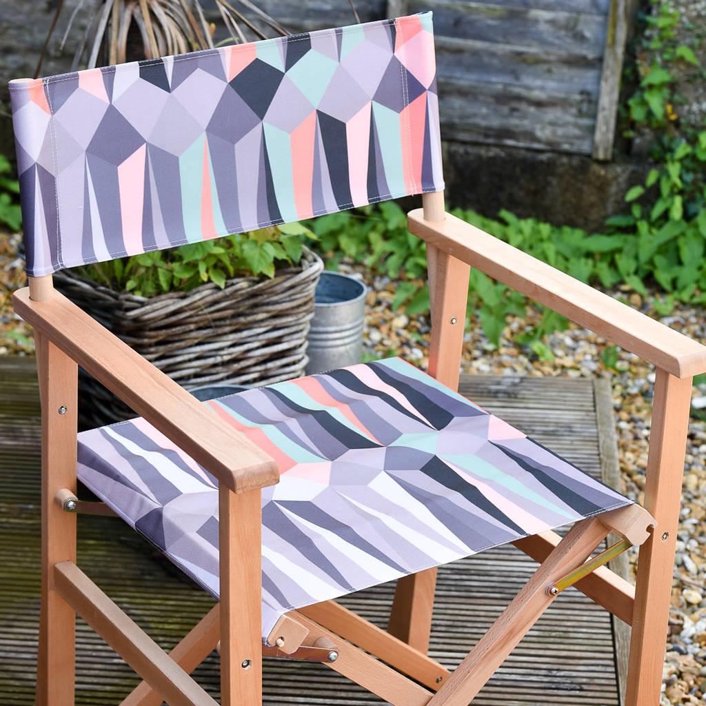 hanging chair notonthehighstreet nursery rocking wayfair diamond ombre garden directors by more design