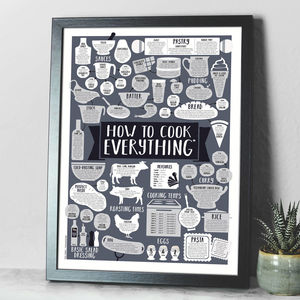 kitchen prints commercial door how to cook everything a2 print by paper plane notonthehighstreet com